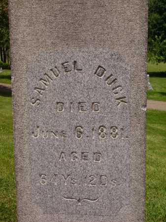 DUCK, SAMUEL - CLOSEVIEW - Stark County, Ohio | SAMUEL - CLOSEVIEW DUCK - Ohio Gravestone Photos