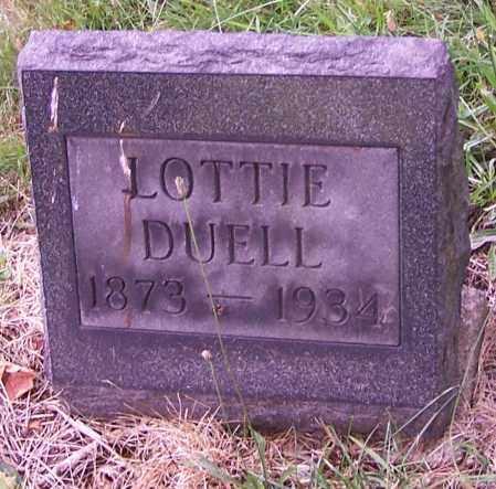 DUELL, LOTTIE - Stark County, Ohio   LOTTIE DUELL - Ohio Gravestone Photos