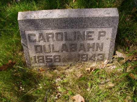 DULABAHN, CAROLINE PHOEBE - Stark County, Ohio   CAROLINE PHOEBE DULABAHN - Ohio Gravestone Photos