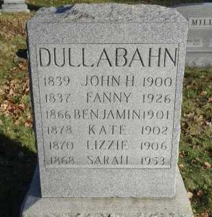 DULLABAHN, KATE - Stark County, Ohio   KATE DULLABAHN - Ohio Gravestone Photos