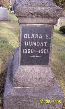 DUMONT, CLARA E. - Stark County, Ohio | CLARA E. DUMONT - Ohio Gravestone Photos