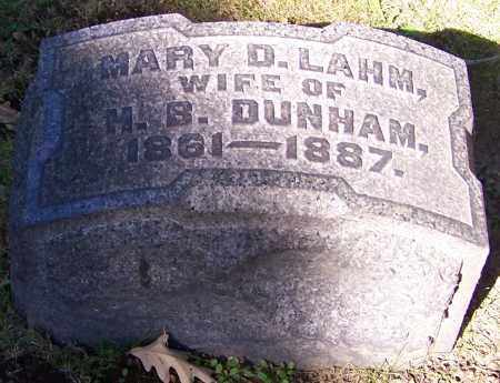 DUNHAM, MARY D. - Stark County, Ohio | MARY D. DUNHAM - Ohio Gravestone Photos