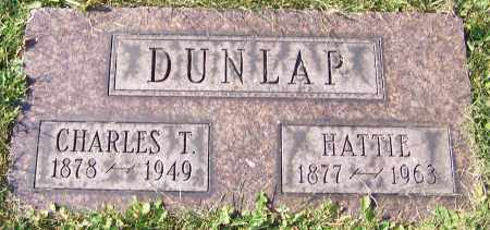 DUNLAP, CHARLES T. - Stark County, Ohio | CHARLES T. DUNLAP - Ohio Gravestone Photos