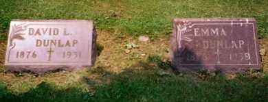 DUNLAP, EMMA - Stark County, Ohio | EMMA DUNLAP - Ohio Gravestone Photos