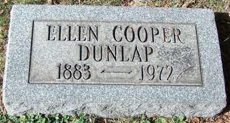 DUNLAP, ELLEN COOPER - Stark County, Ohio   ELLEN COOPER DUNLAP - Ohio Gravestone Photos