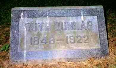 BLACK DUNLAP, RUTH - Stark County, Ohio | RUTH BLACK DUNLAP - Ohio Gravestone Photos