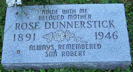 DUNNERSTICK, ROSE - Stark County, Ohio | ROSE DUNNERSTICK - Ohio Gravestone Photos