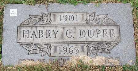 DUPEE, HARRY C. - Stark County, Ohio   HARRY C. DUPEE - Ohio Gravestone Photos