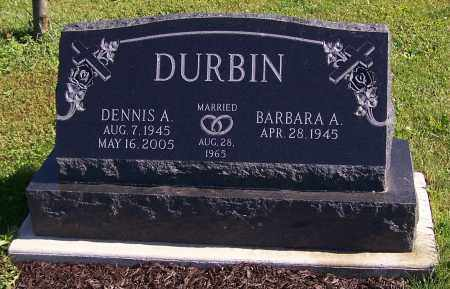 DURBIN, BARBARA A. - Stark County, Ohio   BARBARA A. DURBIN - Ohio Gravestone Photos
