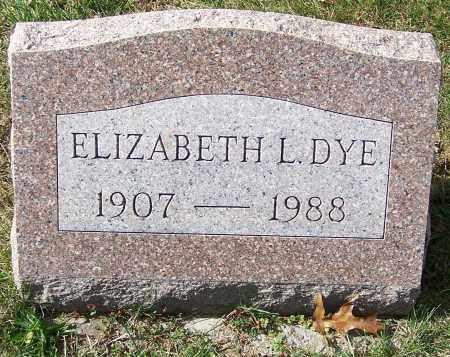 DYE, ELIZABETH L. - Stark County, Ohio | ELIZABETH L. DYE - Ohio Gravestone Photos