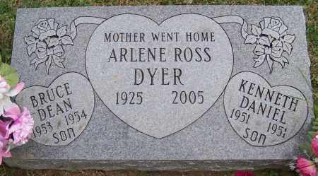 DYER, ARLENE ROSS - Stark County, Ohio | ARLENE ROSS DYER - Ohio Gravestone Photos