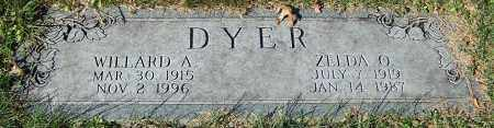 DYER, ZELDA O. - Stark County, Ohio | ZELDA O. DYER - Ohio Gravestone Photos