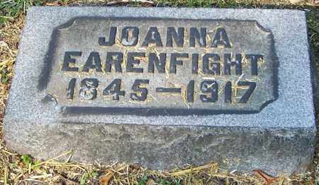 EARENFIGHT, JOANNA - Stark County, Ohio | JOANNA EARENFIGHT - Ohio Gravestone Photos