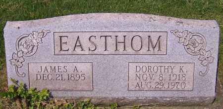 EASTHOM, DOROTHY K. - Stark County, Ohio | DOROTHY K. EASTHOM - Ohio Gravestone Photos
