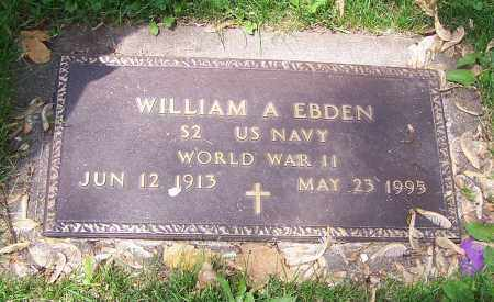 EBDEN, WILLIAM A. - Stark County, Ohio | WILLIAM A. EBDEN - Ohio Gravestone Photos