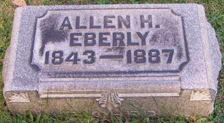 EBERLY, ALLEN H. - Stark County, Ohio | ALLEN H. EBERLY - Ohio Gravestone Photos