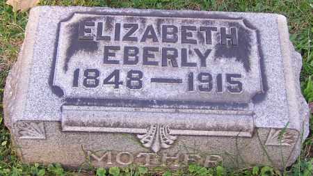 EBERLY, ELIZABETH - Stark County, Ohio | ELIZABETH EBERLY - Ohio Gravestone Photos