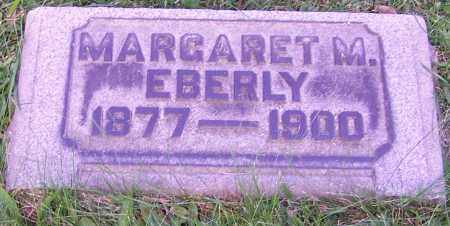 EBERLY, MARGARET M. - Stark County, Ohio | MARGARET M. EBERLY - Ohio Gravestone Photos
