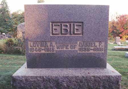 EBIE, DANIEL FRANKLIN - Stark County, Ohio | DANIEL FRANKLIN EBIE - Ohio Gravestone Photos