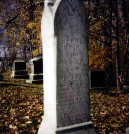 EBIE, DANIEL - Stark County, Ohio | DANIEL EBIE - Ohio Gravestone Photos