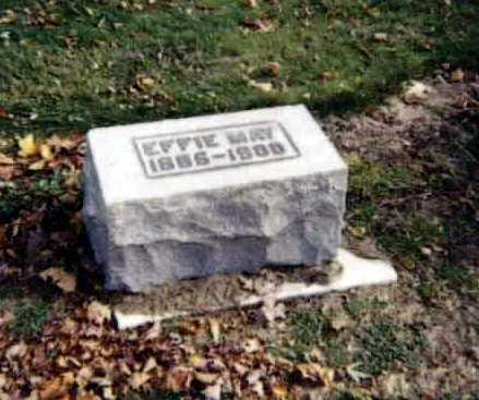 EBIE, EFFIE MAY - Stark County, Ohio | EFFIE MAY EBIE - Ohio Gravestone Photos
