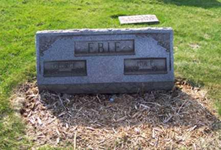 EBIE, GEORGE - Stark County, Ohio | GEORGE EBIE - Ohio Gravestone Photos