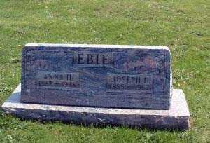 HERSHEY EBIE, MARY ANNA - Stark County, Ohio | MARY ANNA HERSHEY EBIE - Ohio Gravestone Photos