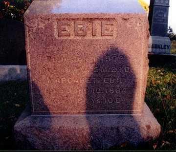 EBIE, JOHN - Stark County, Ohio | JOHN EBIE - Ohio Gravestone Photos