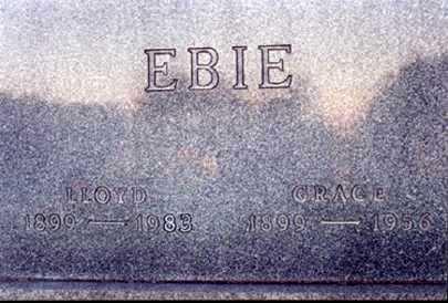 CULLER EBIE, GRACE - Stark County, Ohio   GRACE CULLER EBIE - Ohio Gravestone Photos