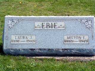 ROYER EBIE, LAURA JULIA - Stark County, Ohio | LAURA JULIA ROYER EBIE - Ohio Gravestone Photos