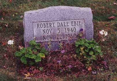 EBIE, ROBERT DALE - Stark County, Ohio   ROBERT DALE EBIE - Ohio Gravestone Photos