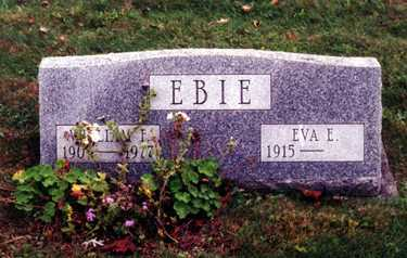 EBIE, WILLIAM FREDERICK - Stark County, Ohio   WILLIAM FREDERICK EBIE - Ohio Gravestone Photos