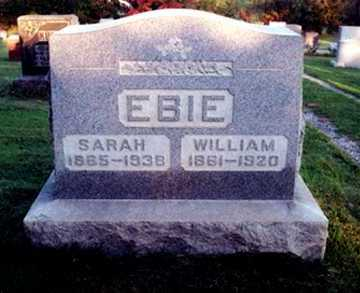 EBIE, WILLIAM E. - Stark County, Ohio | WILLIAM E. EBIE - Ohio Gravestone Photos