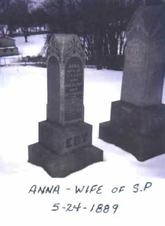 HERSHBERGER EBY, ANNA - Stark County, Ohio | ANNA HERSHBERGER EBY - Ohio Gravestone Photos