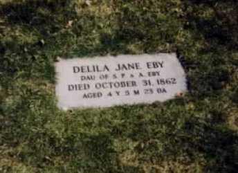 EBY, DELILA JANE - Stark County, Ohio | DELILA JANE EBY - Ohio Gravestone Photos