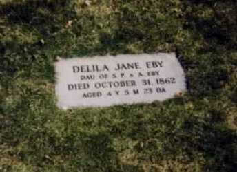 EBY, DELILA JANE - Stark County, Ohio | DELILA JANE EBY - Ohio Gravestone Photos