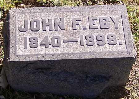 EBY, JOHN F. - Stark County, Ohio | JOHN F. EBY - Ohio Gravestone Photos