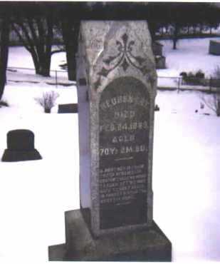 EBY, REUBEN - Stark County, Ohio   REUBEN EBY - Ohio Gravestone Photos