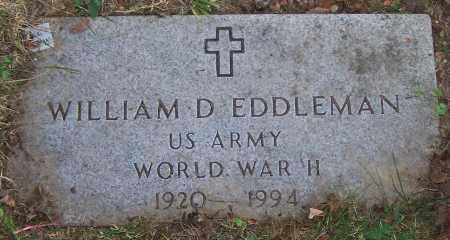 EDDLEMAN, WILLIAM D. - Stark County, Ohio | WILLIAM D. EDDLEMAN - Ohio Gravestone Photos
