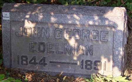 EDELMAN, JOHN GEORGE - Stark County, Ohio   JOHN GEORGE EDELMAN - Ohio Gravestone Photos