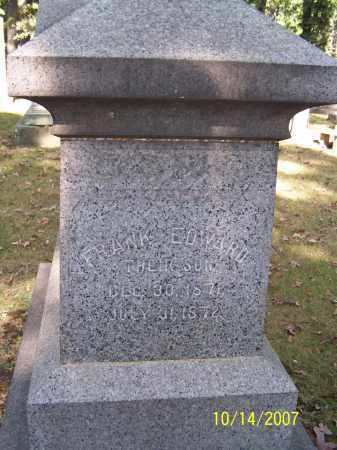 EDWARD, FRANK - Stark County, Ohio   FRANK EDWARD - Ohio Gravestone Photos