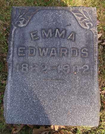 EDWARDS, EMMA - Stark County, Ohio | EMMA EDWARDS - Ohio Gravestone Photos