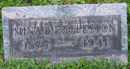 EGGLESTON, MINA B. - Stark County, Ohio   MINA B. EGGLESTON - Ohio Gravestone Photos