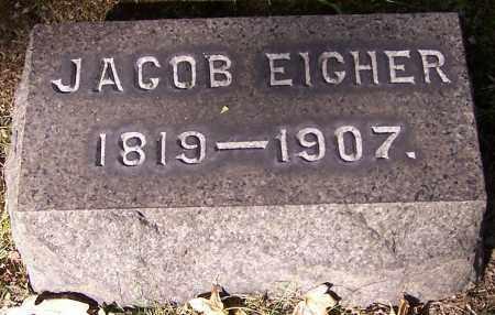 EIGHER, JACOB - Stark County, Ohio | JACOB EIGHER - Ohio Gravestone Photos