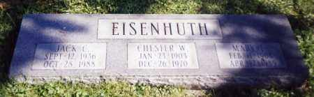 EISENHUTH, CHESTER W. - Stark County, Ohio | CHESTER W. EISENHUTH - Ohio Gravestone Photos