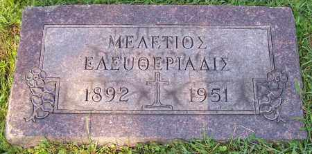 ELEFTHERIADIS, MELETIOS - Stark County, Ohio | MELETIOS ELEFTHERIADIS - Ohio Gravestone Photos