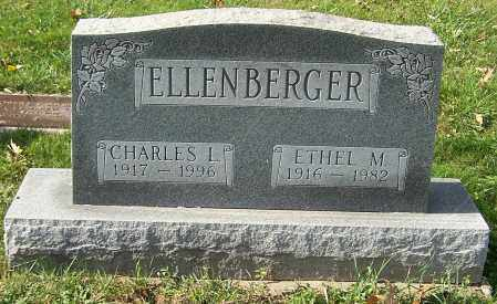 ELLENBERGER, CHARLES L. - Stark County, Ohio | CHARLES L. ELLENBERGER - Ohio Gravestone Photos