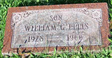 ELLIS, WILLIAM G. - Stark County, Ohio | WILLIAM G. ELLIS - Ohio Gravestone Photos