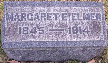 ELMER, MARGARET E. - Stark County, Ohio | MARGARET E. ELMER - Ohio Gravestone Photos