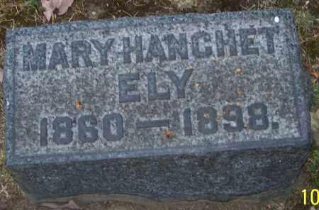 ELY, MARY HANCHET - Stark County, Ohio | MARY HANCHET ELY - Ohio Gravestone Photos
